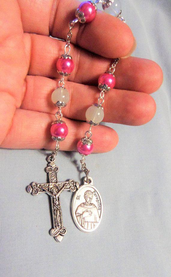St Peregrine Chaplet Patron Saint of Cancer Patron Saints