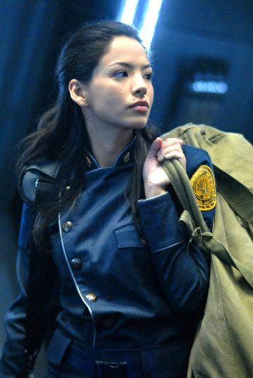 Stephany Jacobsen as Kendra Shaw in Battlestar Galactica:Razor