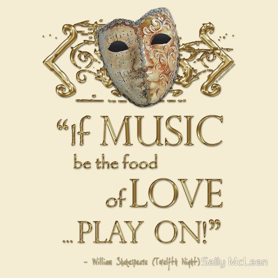 Shakespeare Twelfth Night Love Music Quote