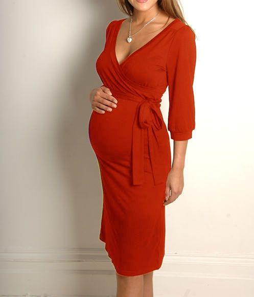 NEU elegant Umstandskleid Umstandsmode Schwangerschaft 6 Farben S/M oder L/XL
