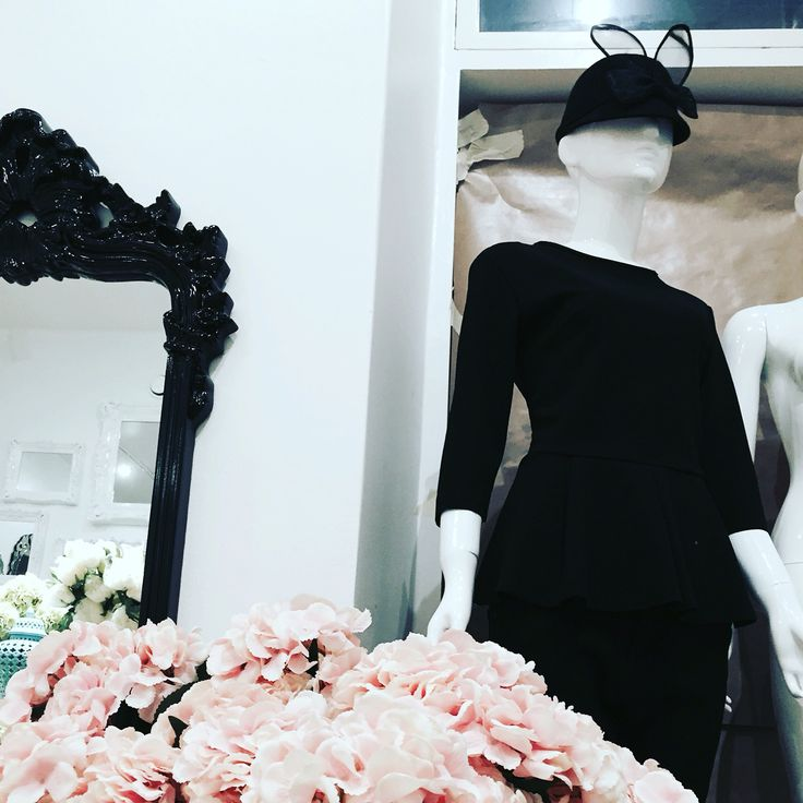 Maison Helsinki loves black with sweet pretty things