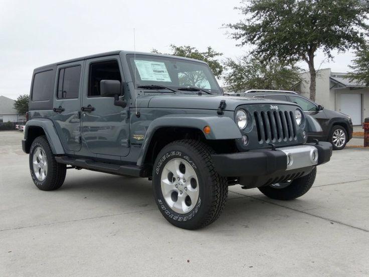 2014 Jeep Wrangler Unlimited Sahara 4x4 - Anvil Clear Coat