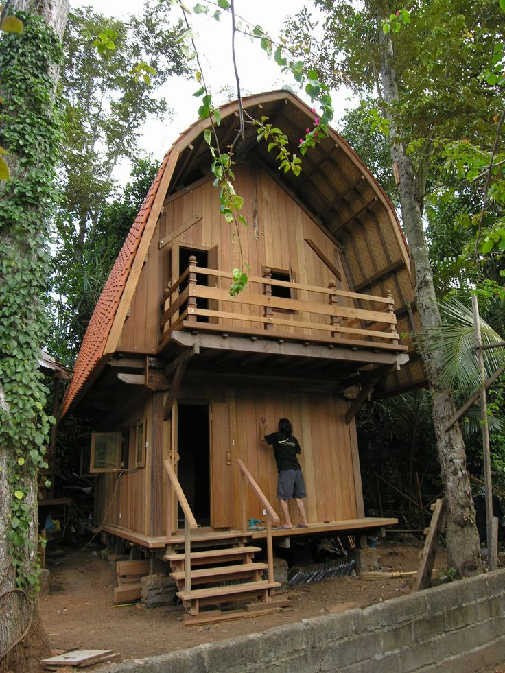 Bali Houses, ECO Cottages, Gazebos, Design - prefab