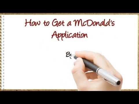 Fill out a McDonald's application online at http://www.parttimenightjob.com #mcdonaldsapplication