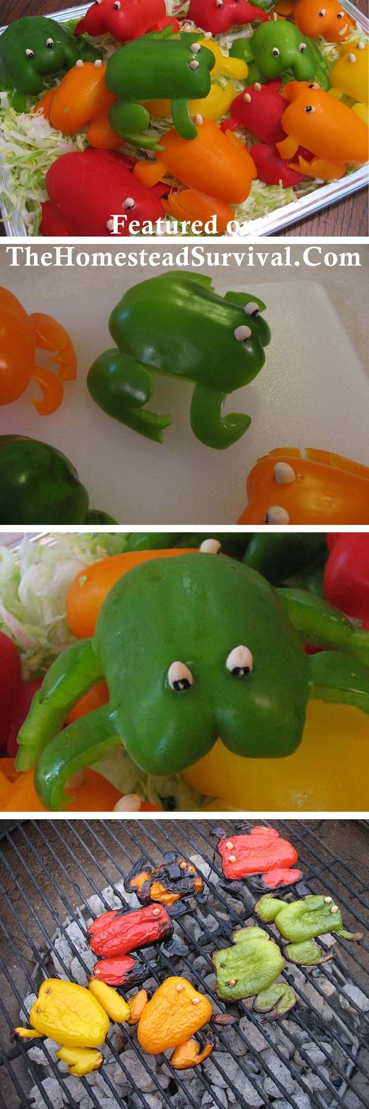 Bell Pepper Frogs.