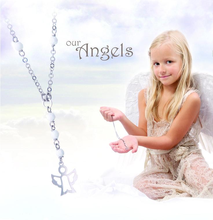 OUR ANGELS - stribrne sperky  www.naturajewels.cz