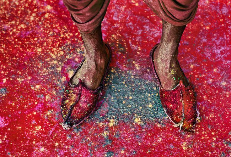 Holi Festival, Rajasthan, India  Steve McCurry
