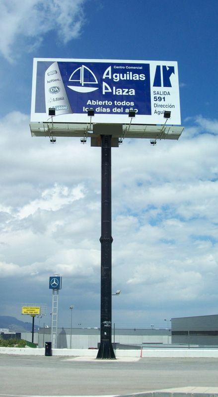 VISUAL CREATIVAMonopostes Gigantescos carteles publicitarios colocados en altura para una perfecta visualización desde cualquier distancia. Impacto y notoriedad: ninguna mirada resulta ajena a su presencia.