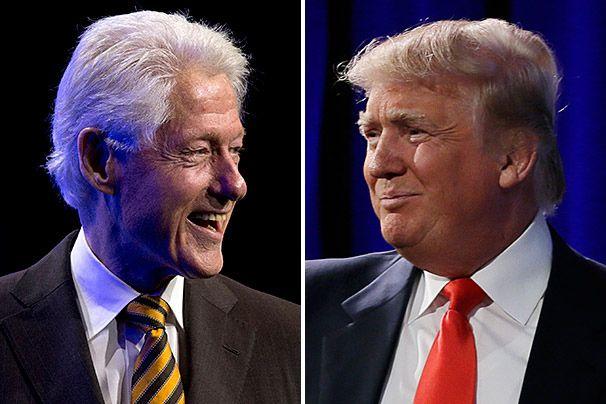 Donald Trump talked politics with Bill Clinton weeks before launching 2016 bid