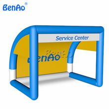 BenAo Free shipping+Air pump Customized inflatable soccer kick games /inflatable football goal / inflatable soccer goal for sale