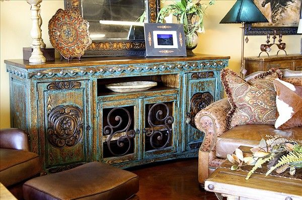 Texas style...www.texastriofurniture.com  Located in Amarillo, Texas