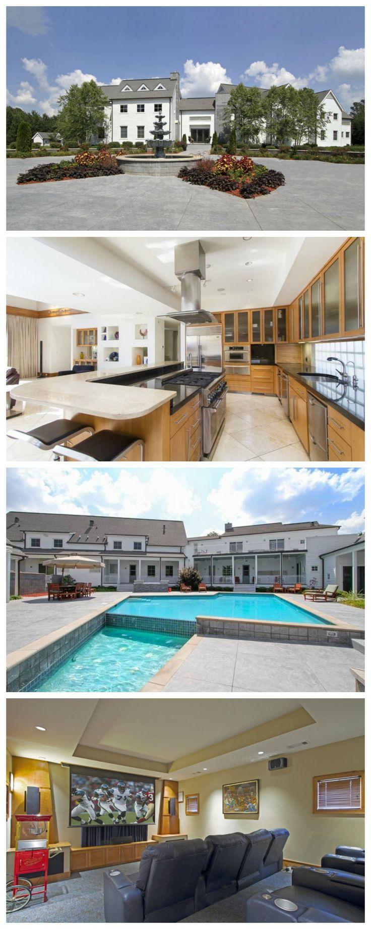 255 best home decor design images on pinterest alabama look inside this former nfl star s alabama sports mansion