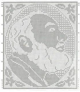 Hobby lavori femminili - ricamo - uncinetto - maglia  padre pio uncinetto e punto  croce a96a8b1b1c6e