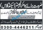 Boiler Engineer Job In Daska Sialkot