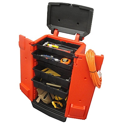Tool Kaddie Rolling Toolbox - i totally need about 10 of these in my studio!