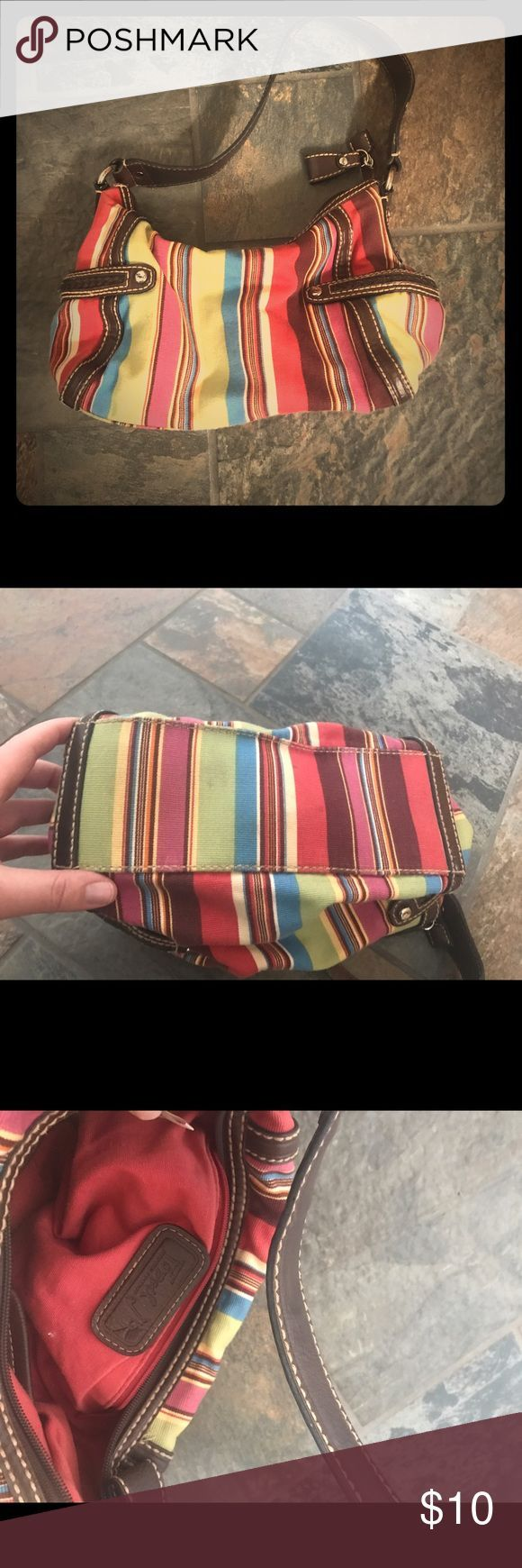 Fossil hand bag Cute stripped Fossil hand bag. Used a couple times but don't have much use for it anymore.  Fossil Bags Mini Bags - branded purse for ladies, handbag sale, handbags & purses *sponsored https://www.pinterest.com/purses_handbags/ https://www.pinterest.com/explore/handbag/ https://www.pinterest.com/purses_handbags/radley-handbags/ https://www.therealreal.com/shop/women/handbags