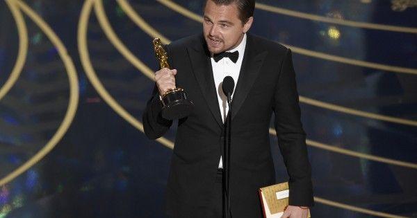 Leonardo DiCaprio Uses Oscars Speech To Call For Climate Action
