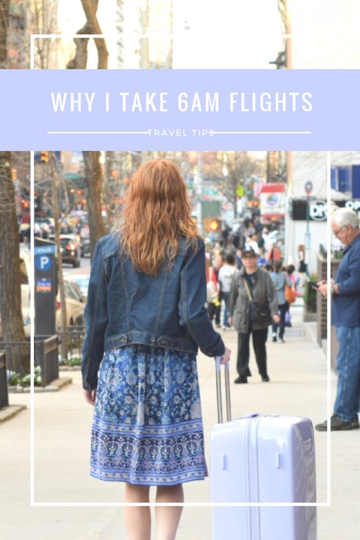 6 Reasons why taking 6AM or early morning flights will save you time and money, especially if flying from NYC airports.