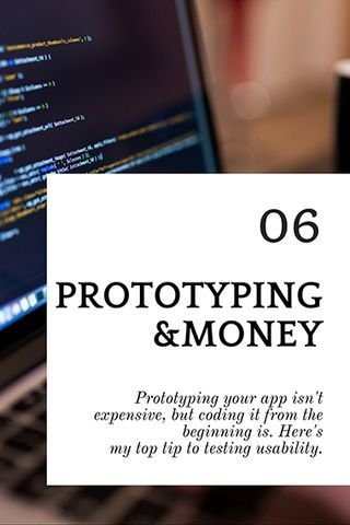 Prototyping your app isn't expensive, but coding it from scratch is. The answer? Testing & feedback. #app #testing #coding #feedback