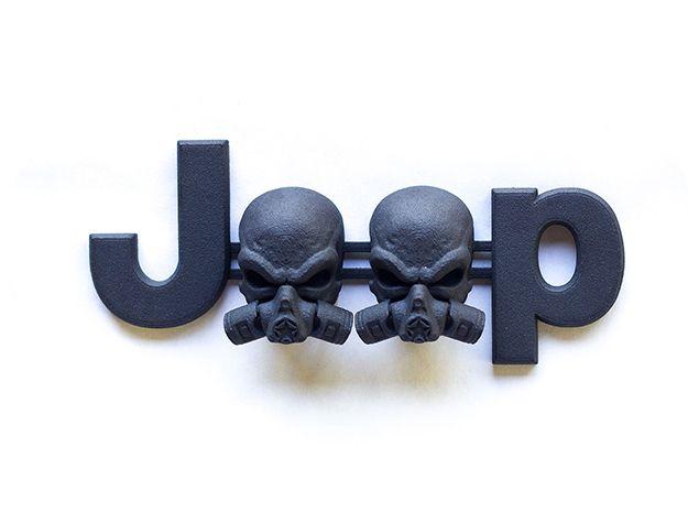 Cuzitscustom Gasmask Piston Skulls Oem Font By 254mm On Jeep