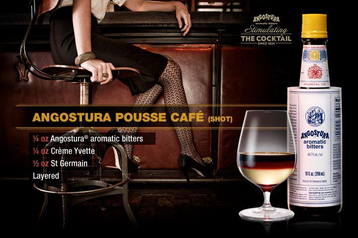 Angostura Pousse Café Shot