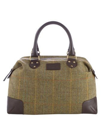 Tweed bag from Joules