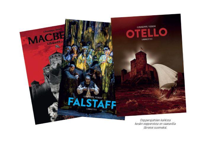 Kaikki kolme Giuseppe Verdin Shakespeare-oopperaa voi tänä kesänä kokea Oopperajuhlilla