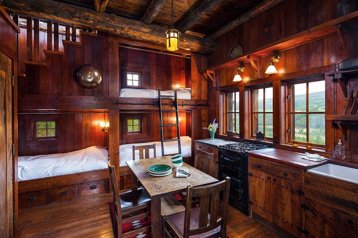 17 Best Images About Cabin Interiors On Pinterest Log Homes Montana And Vacation Rentals