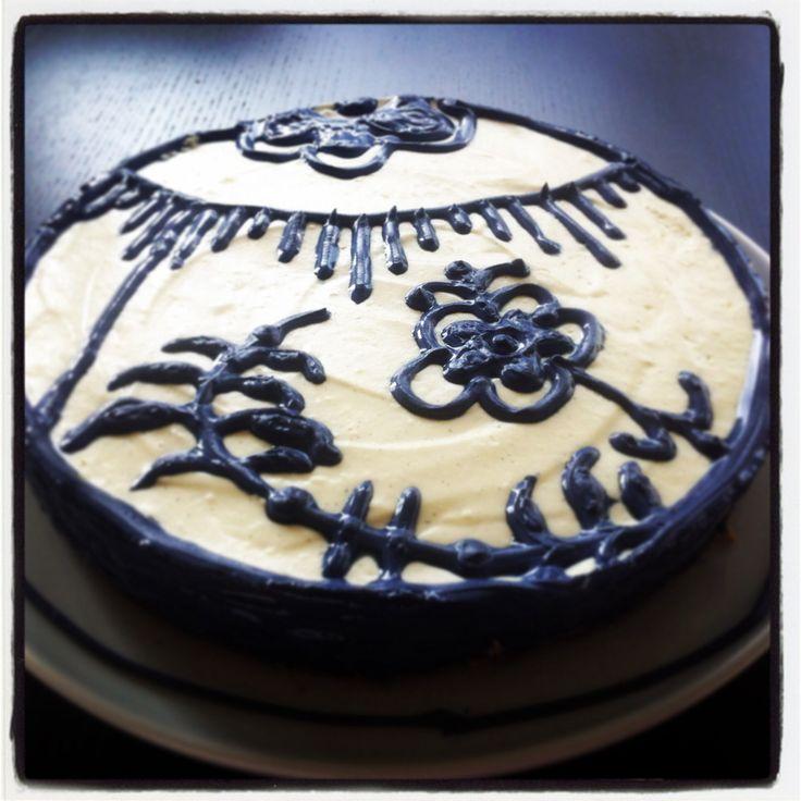 Painted cheesecake ❤️
