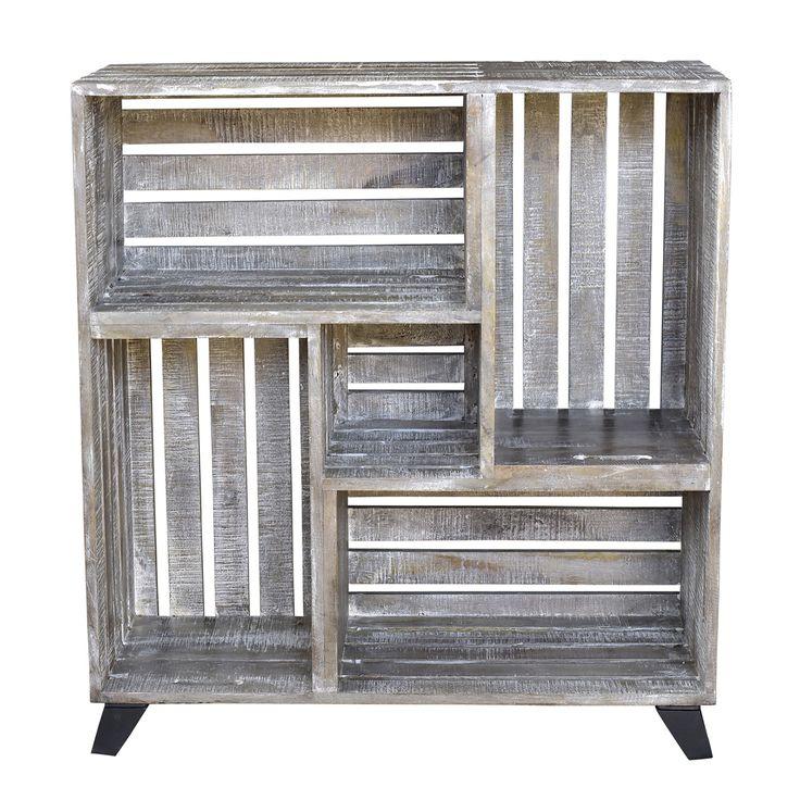 best 25 crate shelves ideas on pinterest crates wooden. Black Bedroom Furniture Sets. Home Design Ideas
