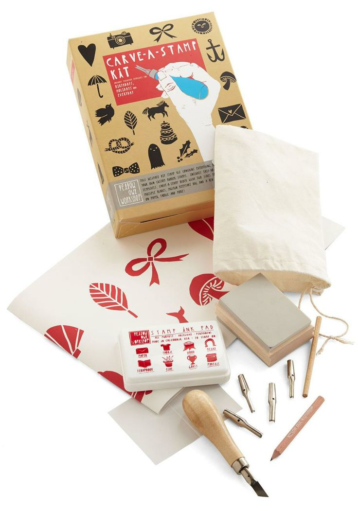 Carve a stamp kit diy kits stamps and