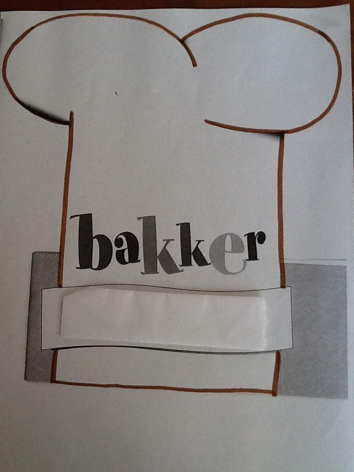 Bakkersmuts maken.