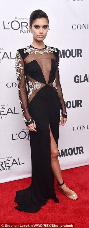 Taking the plunge! La La Anthony, Sara Sampaio, and Jessica Hart flashed the flesh in thei...
