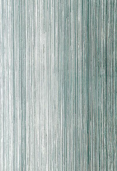 Schumacher Metallic Strie Wallcovering in Turquoise