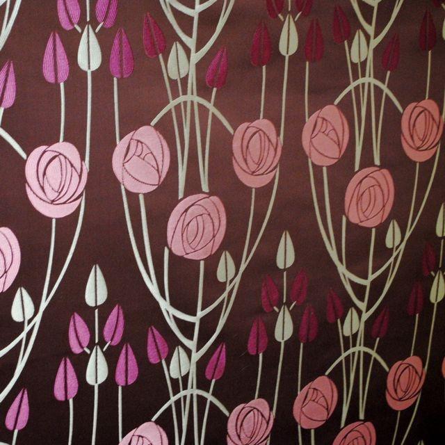 Mackintosh fabric - Clyde Aubergine - £21.99m/£31.99m to order