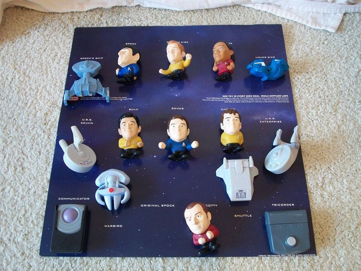 Little Tikes Start Trek Collectibles from Burger King Display 2009  | eBay