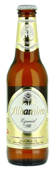 Alhambra Especial   Grupo Cervezas Alhambra (Grupo Mahou-San Miguel - Carlsberg)