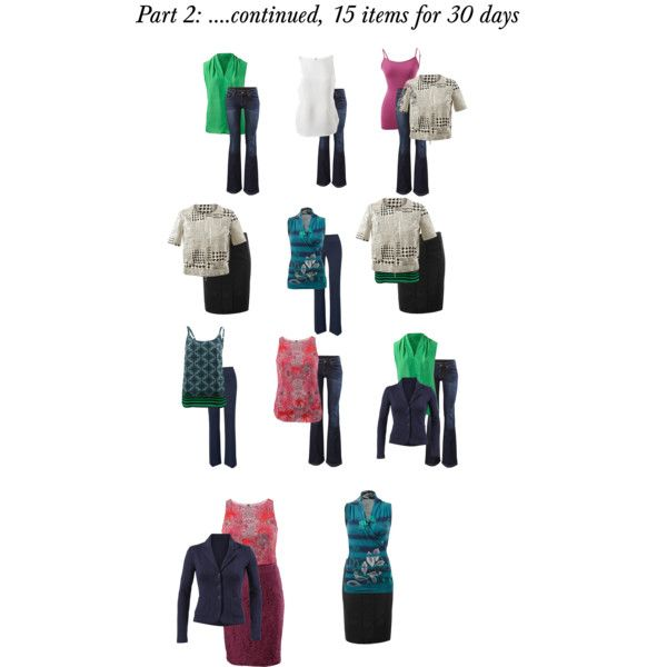 """""""Part 2: of 15 items for 30 days"""" www.jeanettemurphey.cabionline.com"""