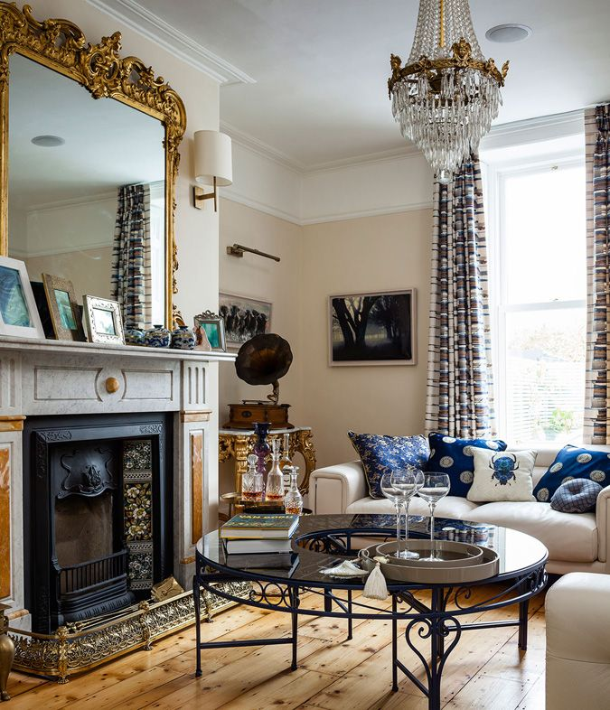 Great Ranelagh Residence By Kingston Lafferty Design Rich Yet Comforting Room  Decorations Part 32