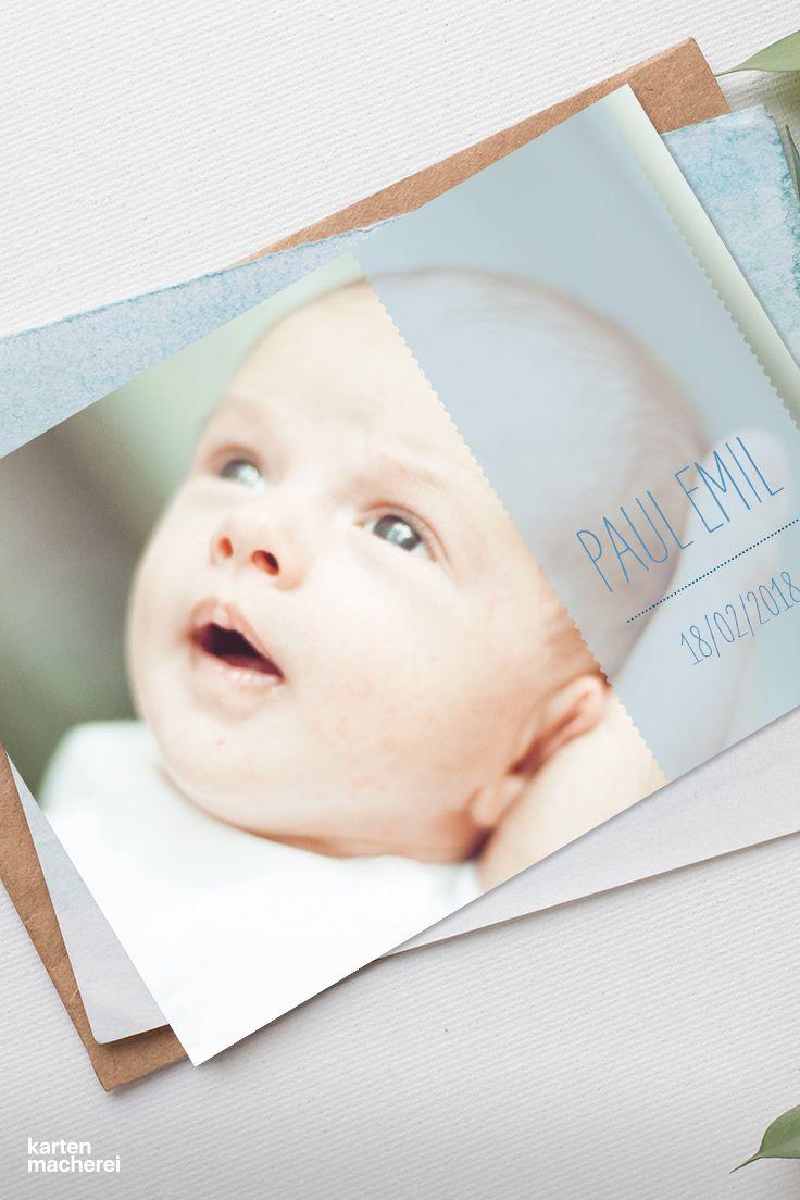 Dein schönstes babyfoto design blickfang babyfoto geburt babykarte baby