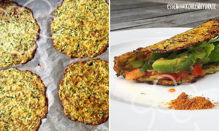 Leckere Zucchini-Tortillias