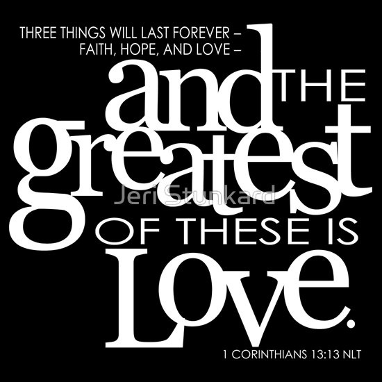 And The Greatest Of These Is Love | Unisex T Shirt. Shirt DesignsShirt IdeasCorinthians  ...