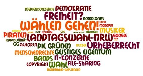 Wahl in NRW - Piraten, Grüne und die Folgen fürs Urheberrecht