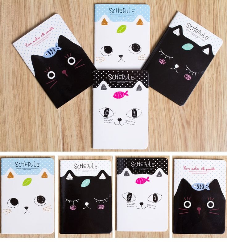 Mini Small Cute Carton Novelty Creative Notebook Diary Writing  Notepads Student Awards School Supplies Stationery2.jpg