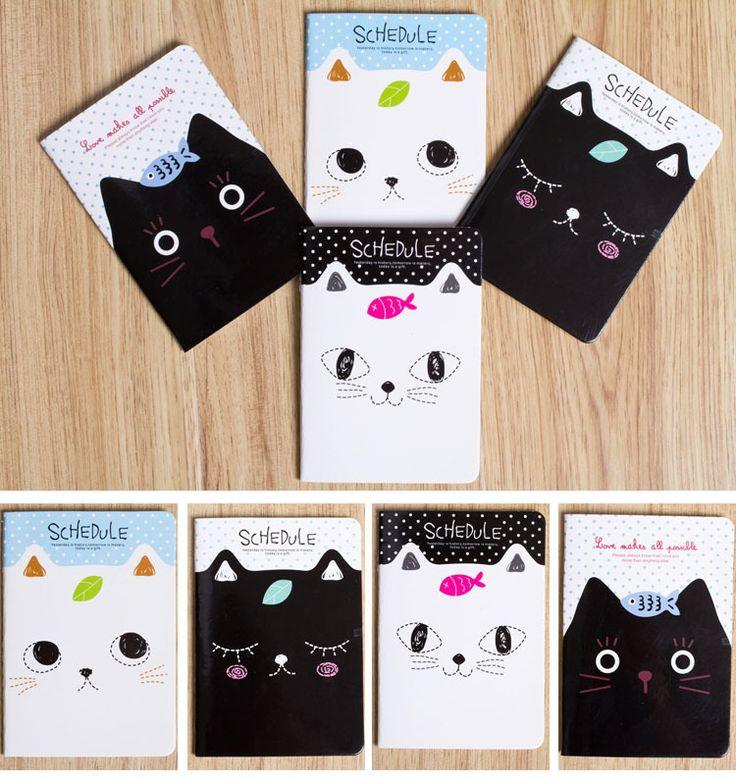 Mini Small Cute Carton Novelty Creative Notebook Diary Writing  Notepads Student Awards School Supplies Stationery2.jpg
