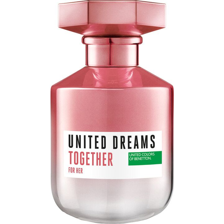 United Dreams Together For Her By Benetton 2019 Perfume Benetton Eau De Toilette