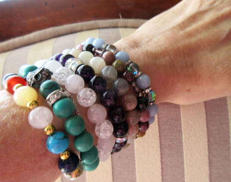 all handmade bracelets for energy, love, inspiration....., choose one that speaks to You