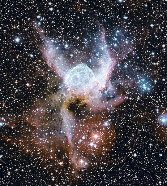 The Thor's Helmet Nebula
