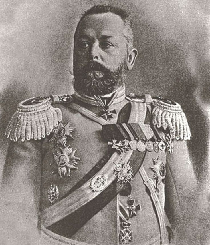 Aleksandr Vassilievich Samsonov (14 November 1859 – 30 August 1914) was a career officer in the cavalry of the Imperial Russian Army and a general served during the Russo-Japanese War and World War I.