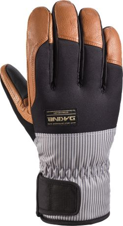 DAKINE Men's Charger Insulated Gloves Stripe S